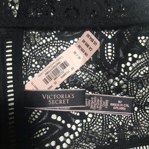 Victoria's Secret Tops - NWT Sexy VS Lace Crop Top M